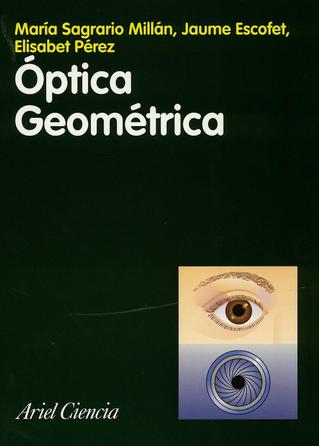 Portada del libro 9788434480643 Optica Geometrica
