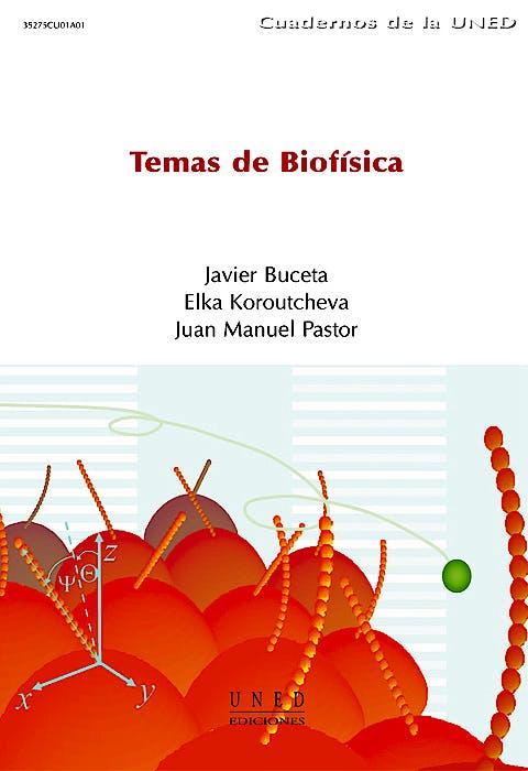 Portada del libro 9788436253177 Temas de Biofisica (Cuadernos Uned)