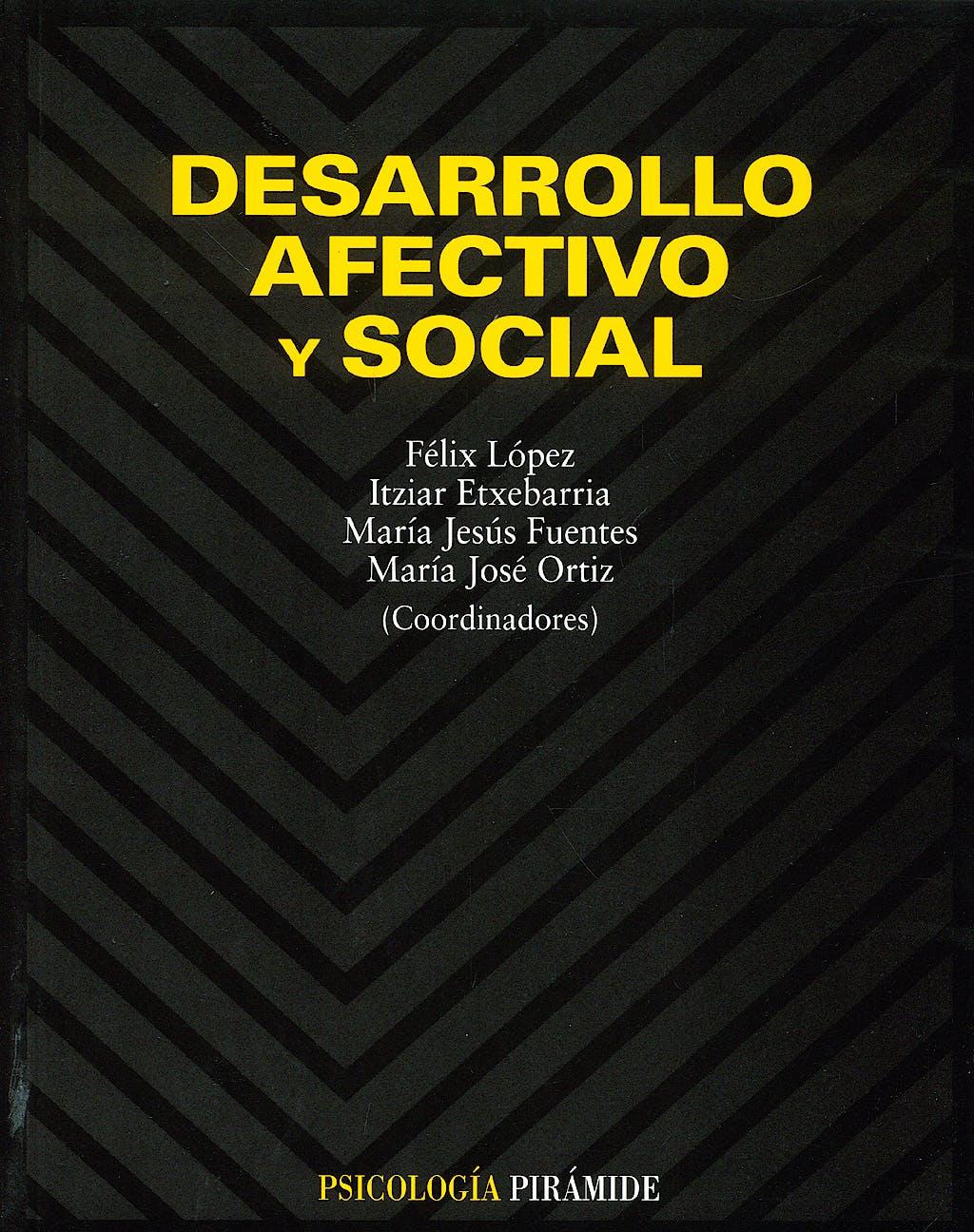 Portada del libro 9788436813623 Desarrollo Afectivo y Social