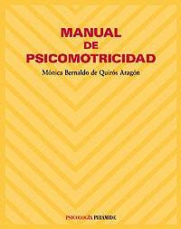 Portada del libro 9788436820423 Manual de Psicomotricidad