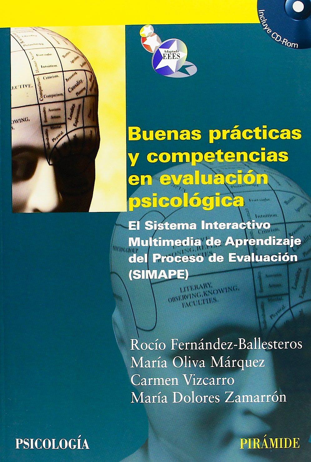 Portada del libro 9788436824322 Buenas Prácticas y Competencias en Evaluación Psicológica. el Sistema Interactivo de Aprendizaje del Proceso de Evaluación (Simape)