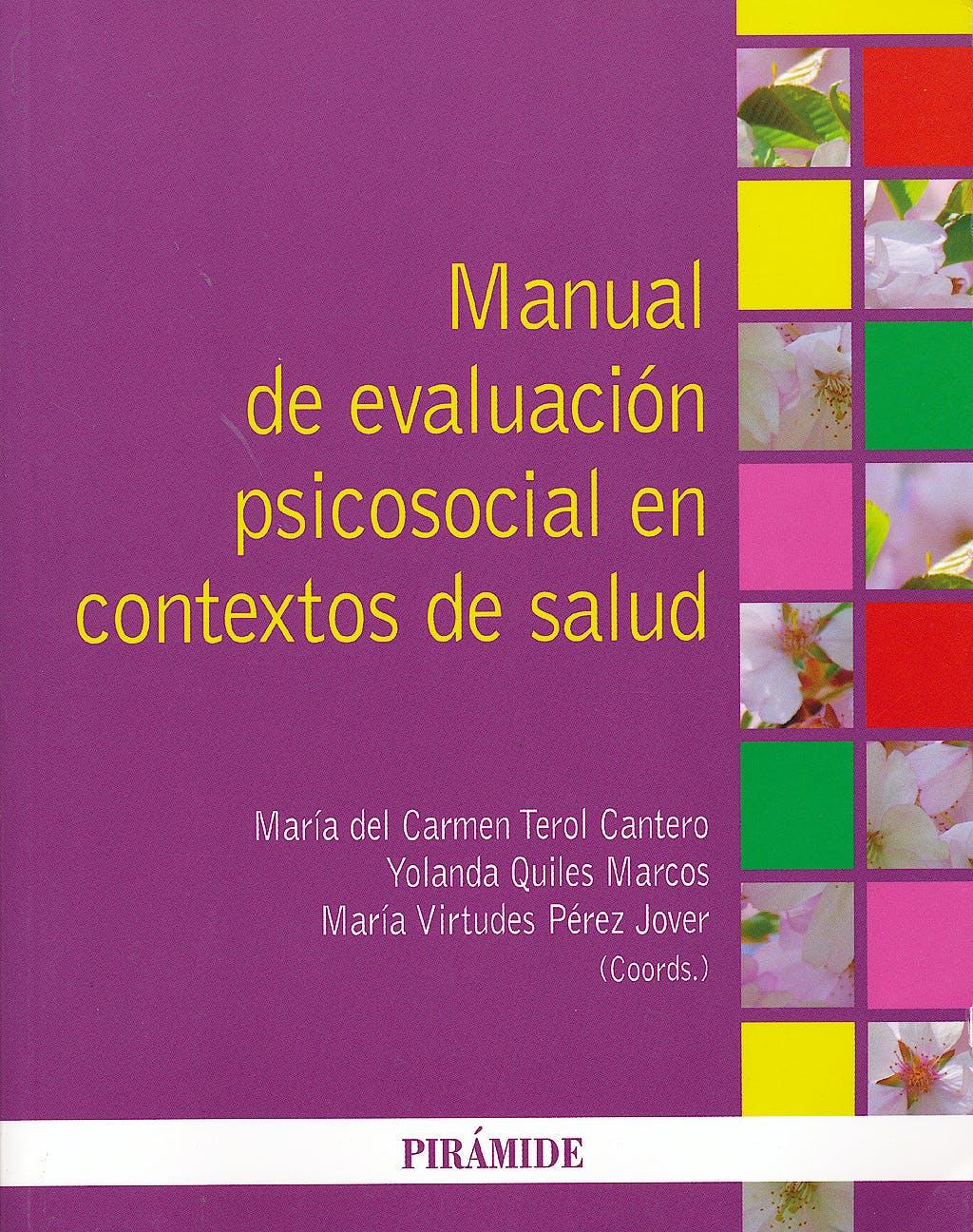 Portada del libro 9788436826371 Manual de Evaluación Psicosocial en Contextos de Salud