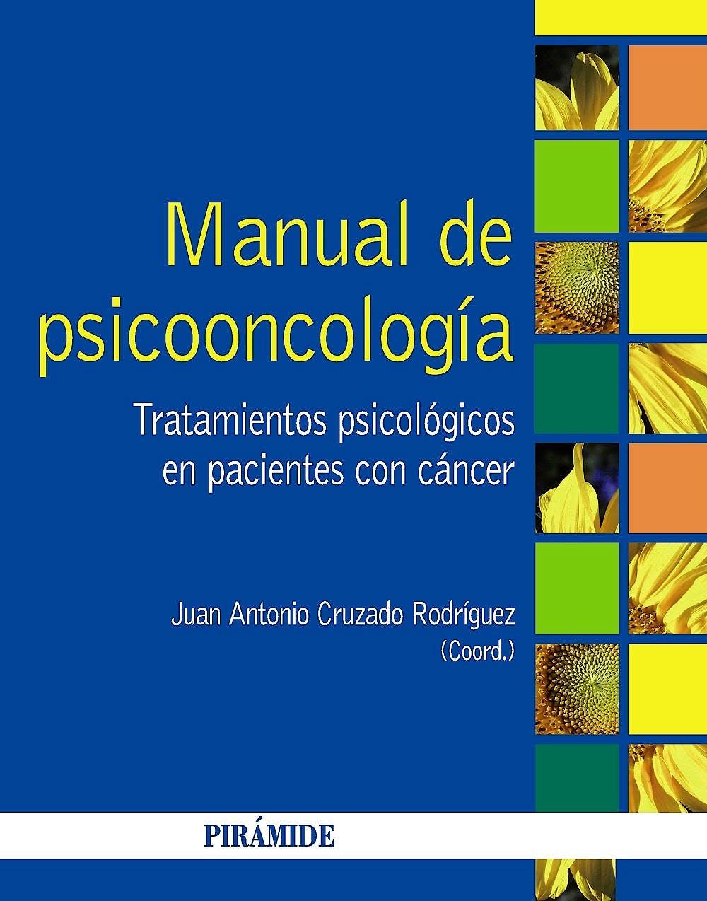 Portada del libro 9788436829907 Manual de Psicooncologia. Tratamientos Psicologicos en Pacientes con Cancer