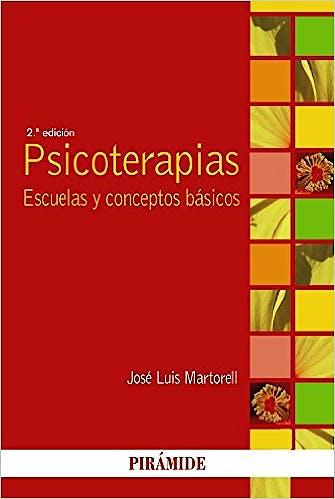 Portada del libro 9788436831450 Psicoterapias. Escuelas y Conceptos Basicos