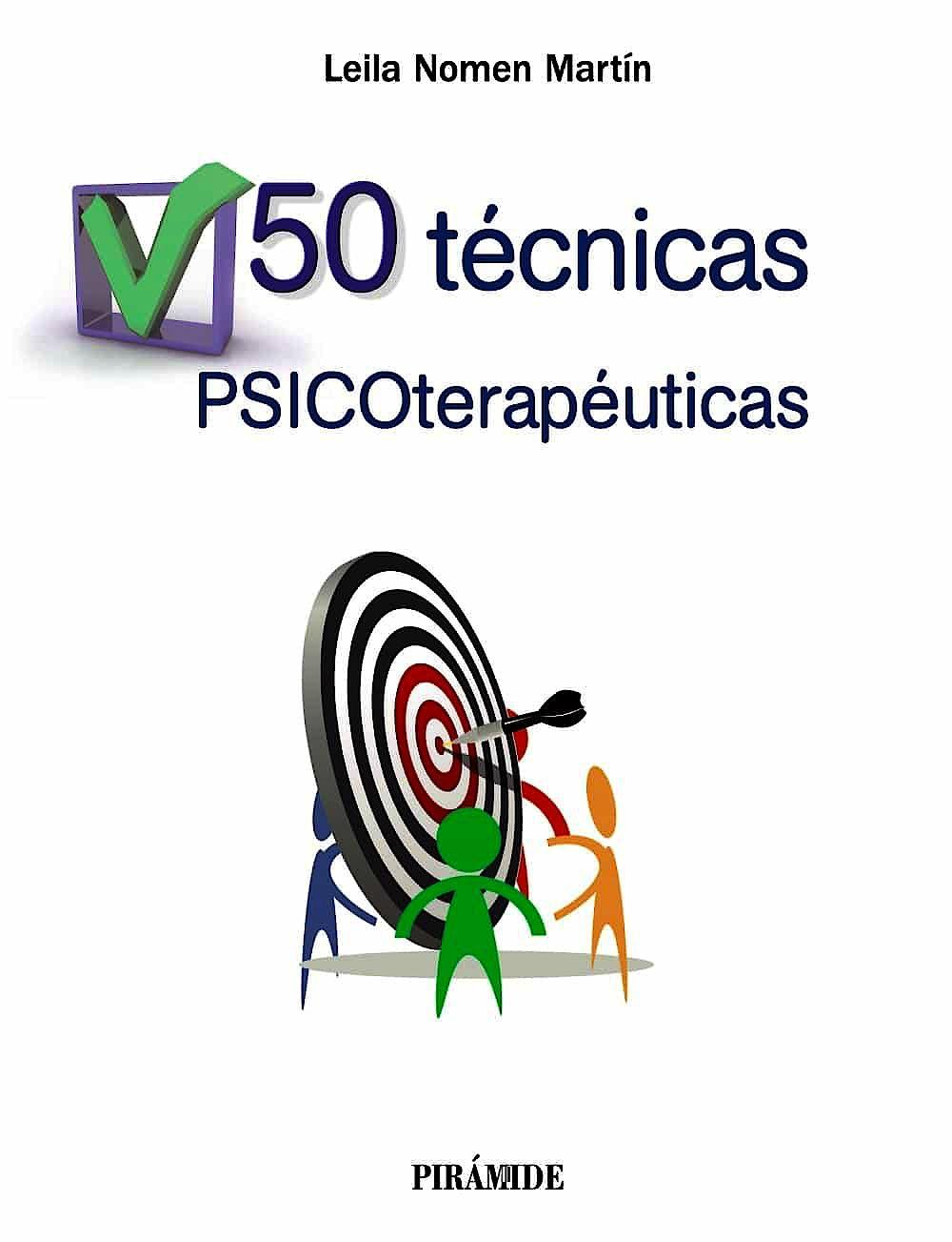 Portada del libro 9788436836158 50 Técnicas Psicoterapéuticas