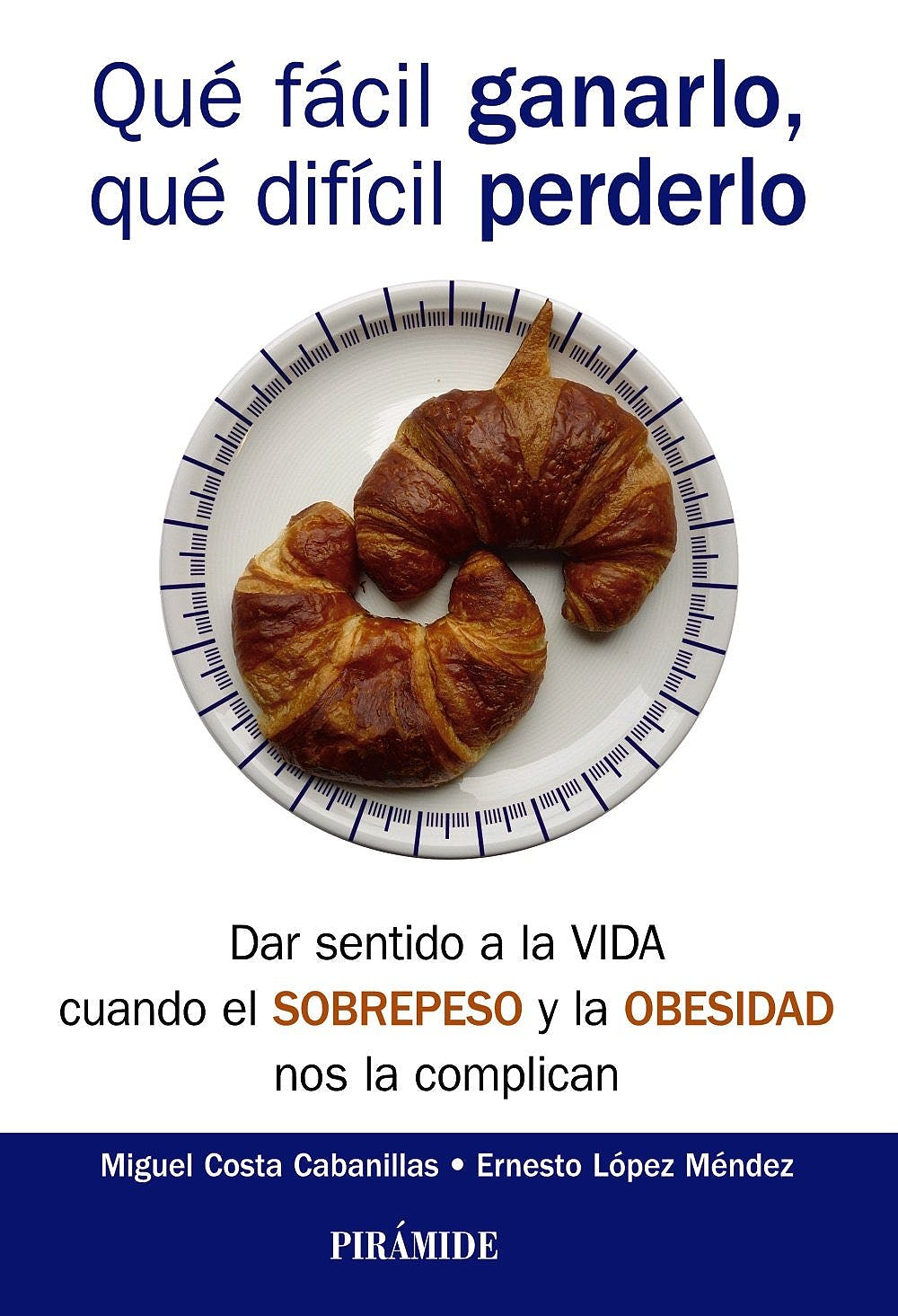 Portada del libro 9788436836585 Qué Fácil Ganarlo, Qué Difícil Perderlo. Dar Sentido a la Vida cuando el Sobrepeso y la Obesidad Nos la Complican