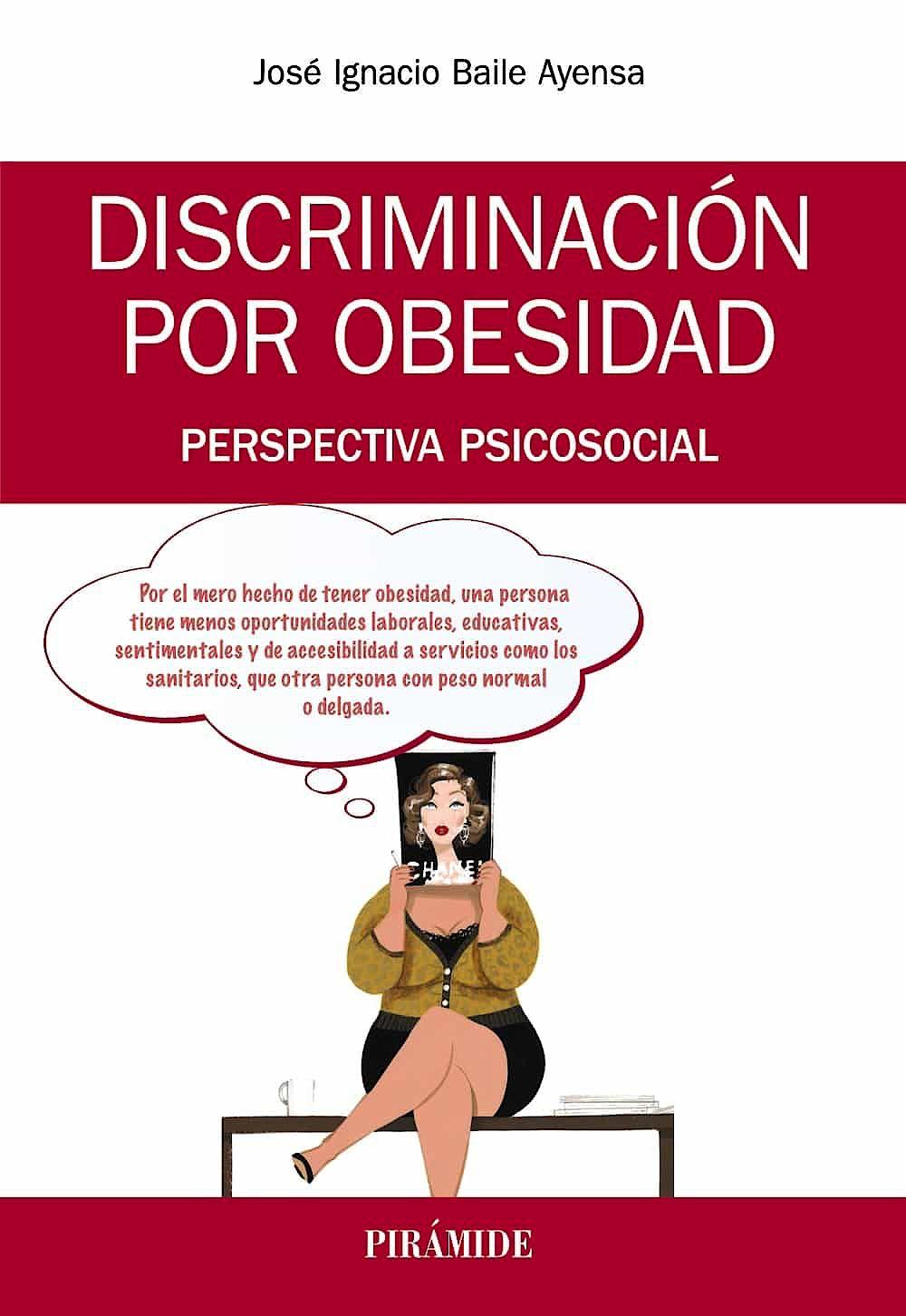 Portada del libro 9788436840193 Discriminación por Obesidad. Perspectiva Psicosocial
