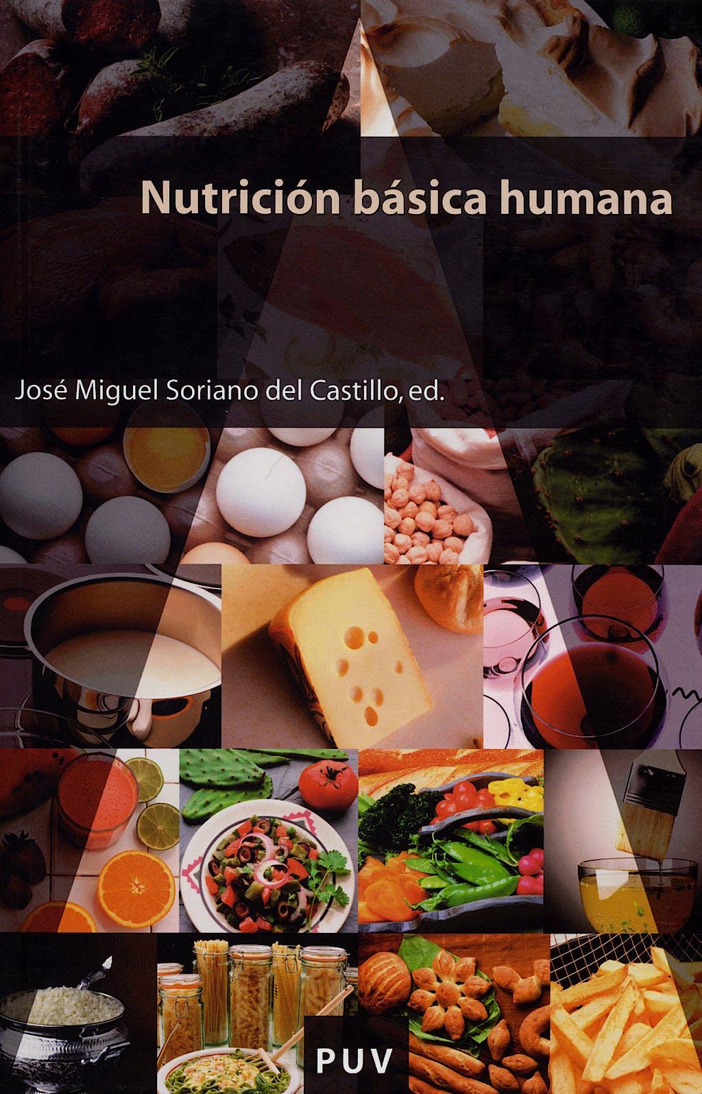 Portada del libro 9788437065465 Nutricion Basica Humana