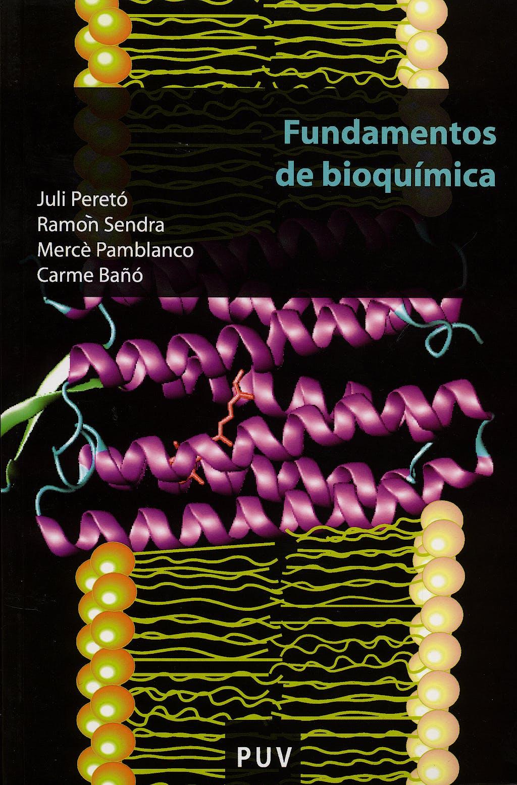 Portada del libro 9788437065663 Fundamentos de Bioquimica