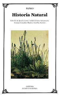 Portada del libro 9788437619583 Historia Natural