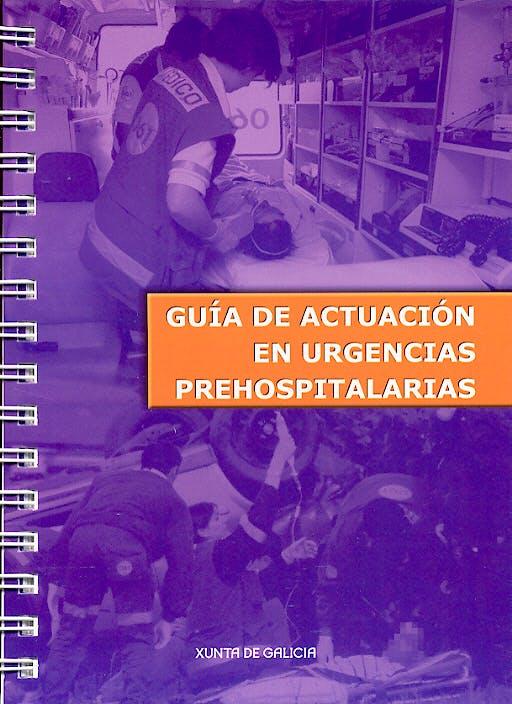 Portada del libro 9788445336403 Guia de Actuacion en Urgencias Prehospitalarias