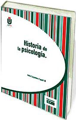 Portada del libro 9788445421482 Historia de la Psicología