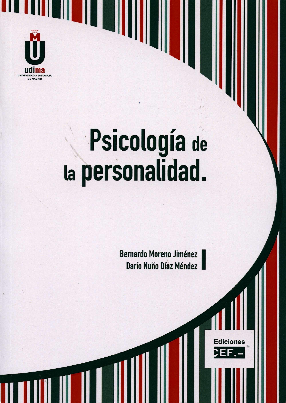Portada del libro 9788445424896 Psicologia de la Personalidad