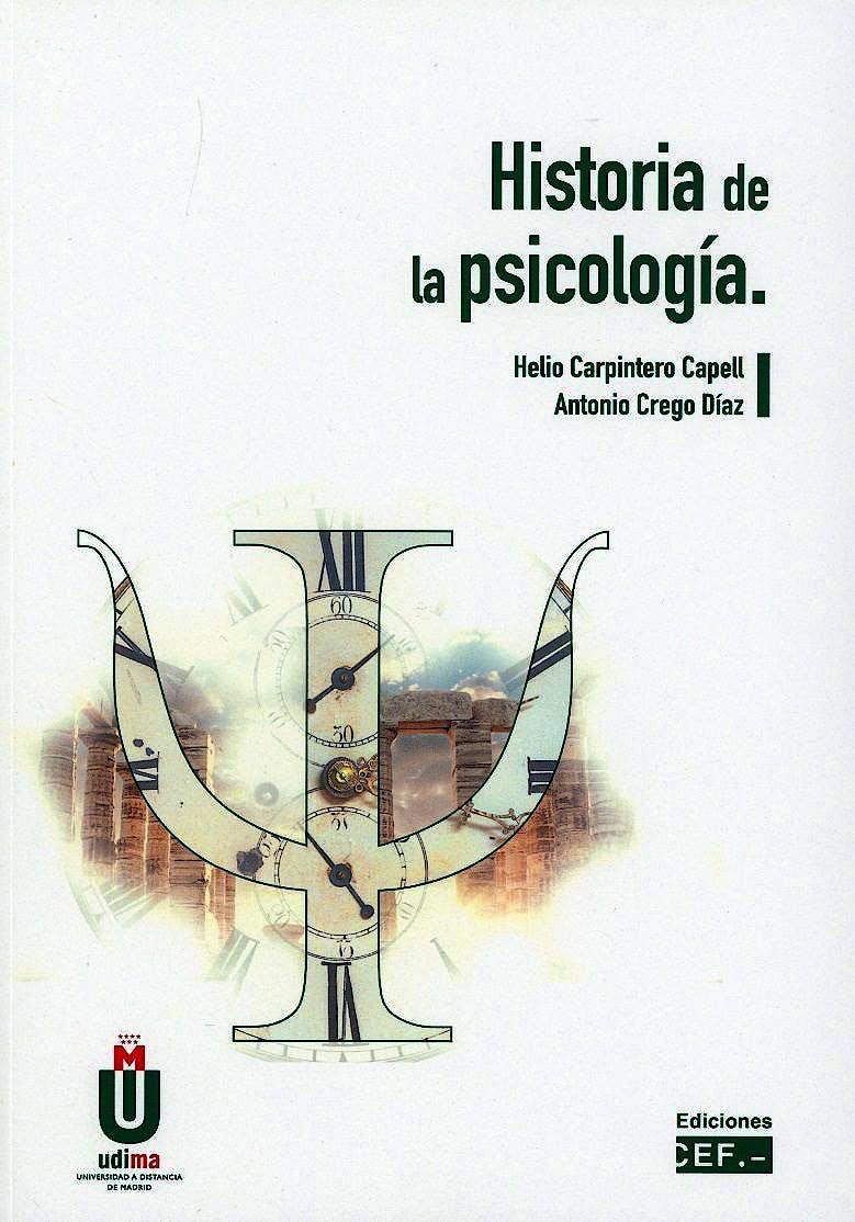 Portada del libro 9788445436691 Historia de la Psicología