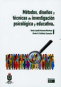 Portada del libro 9788445436707 Métodos, Diseños y Técnicas de Investigación Psicológica y Educativa
