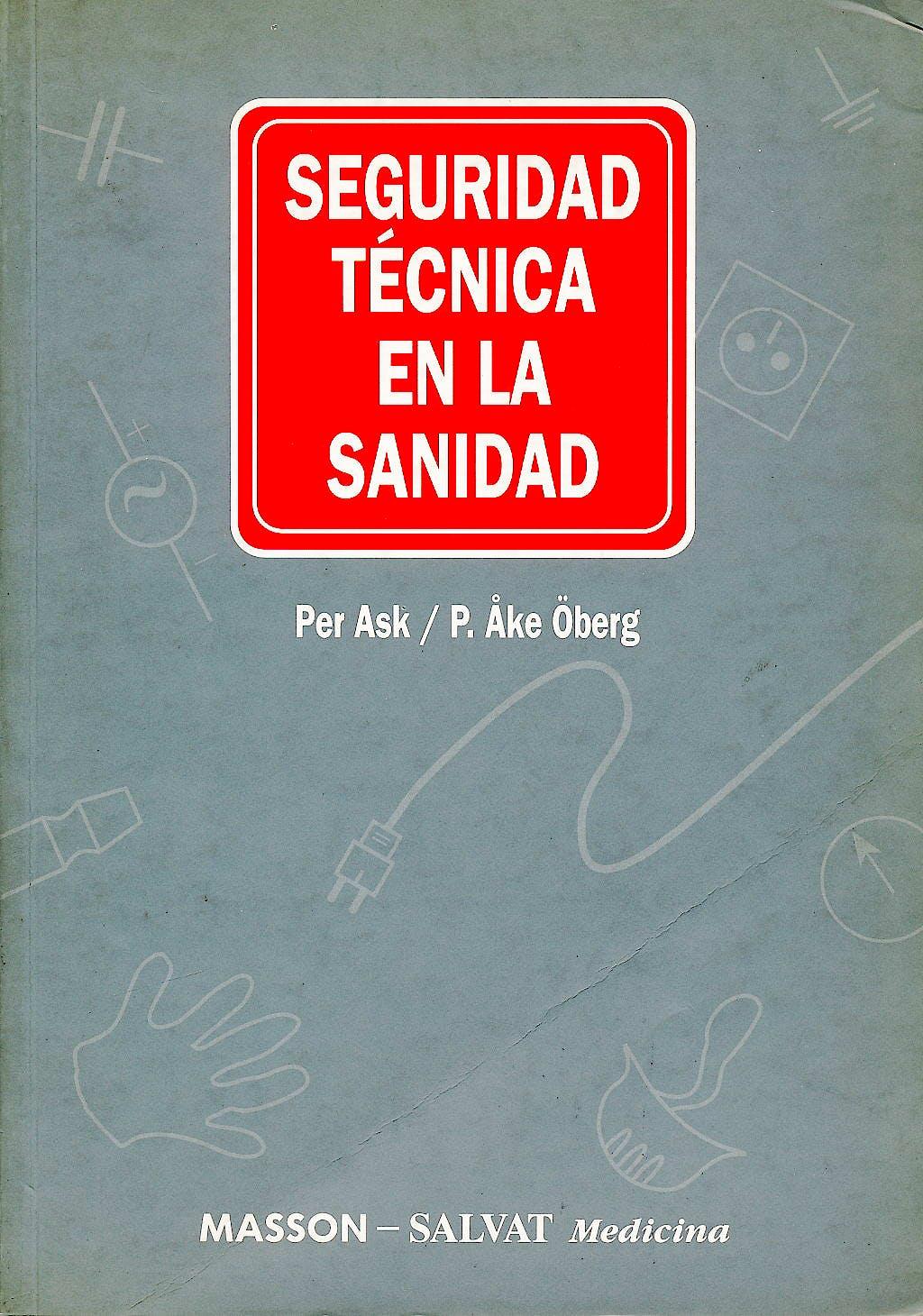 Portada del libro 9788445800539 Seguridad Tecnica en la Sanidad