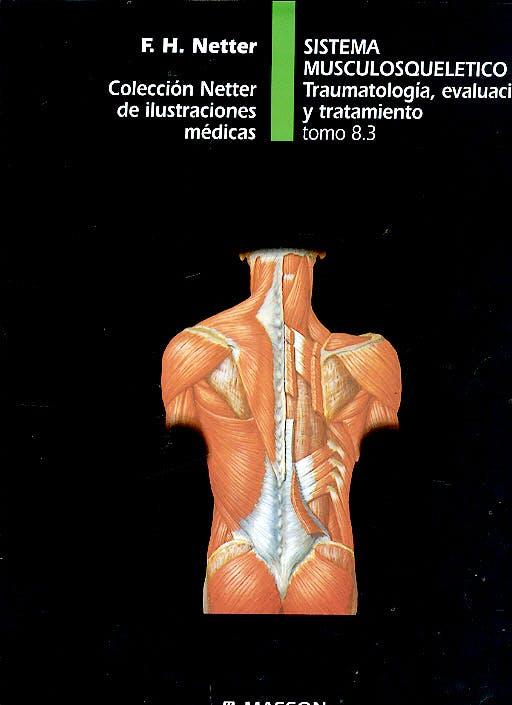 Portada del libro 9788445802717 Sistema Musculosqueletico. Traumatologia, Evaluacion y Tratamiento. Coleccion Netter de Ilustraciones Medicas Tomo 8.3