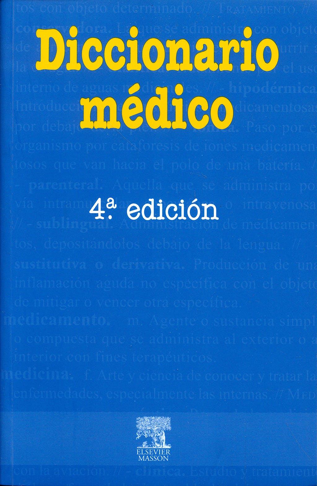 Portada del libro 9788445804865 Diccionario Medico (Edicion de Bolsillo)