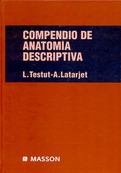 Portada del libro 9788445805527 Compendio de Anatomía Descriptiva