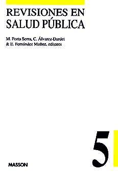 Portada del libro 9788445805541 Revisiones en Salud Publica Nº 5
