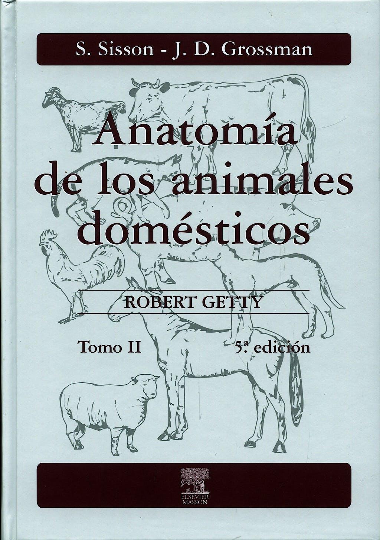 Portada del libro 9788445807231 Anatomía de los Animales Domésticos. Tomo II