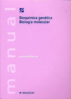 Portada del libro 9788445809921 Manual Bioquimica Genetica. Biologia Molecular