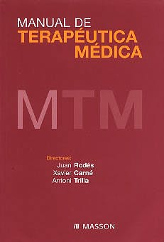 Portada del libro 9788445811481 Manual de Terapeutica Medica
