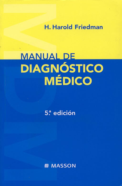Portada del libro 9788445811504 Manual de Diagnostico Medico