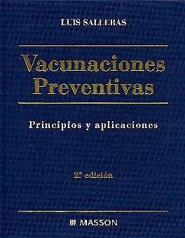 Portada del libro 9788445812075 Vacunaciones Preventivas. Principios y Aplicaciones