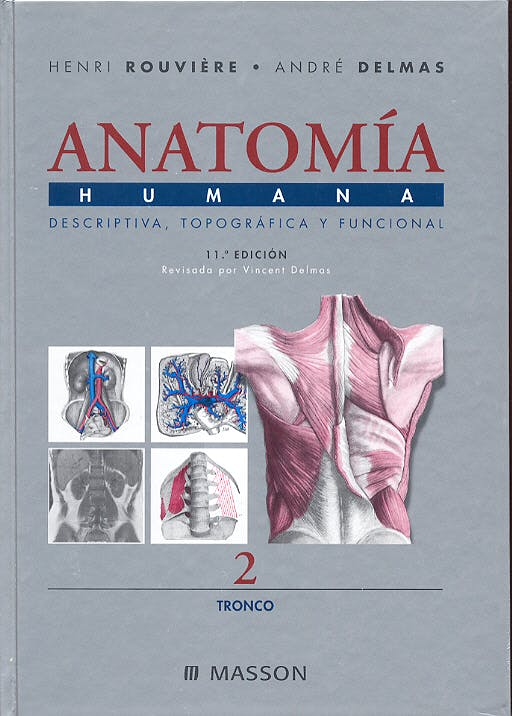 Portada del libro 9788445813140 Anatomía Humana, Vol. 2: Tronco