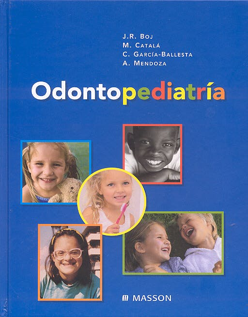Portada del libro 9788445814109 Odontopediatría