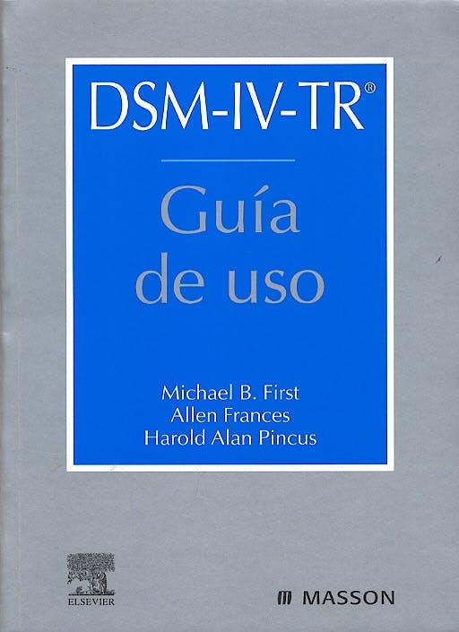 Portada del libro 9788445814857 DSM-IV-TR Guía de Uso
