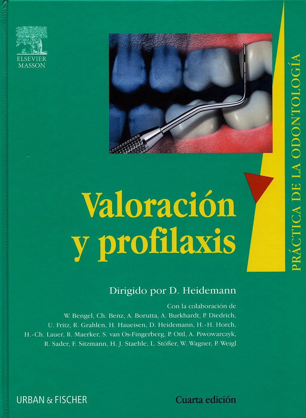 Portada del libro 9788445817674 Valoracion y Profilaxis