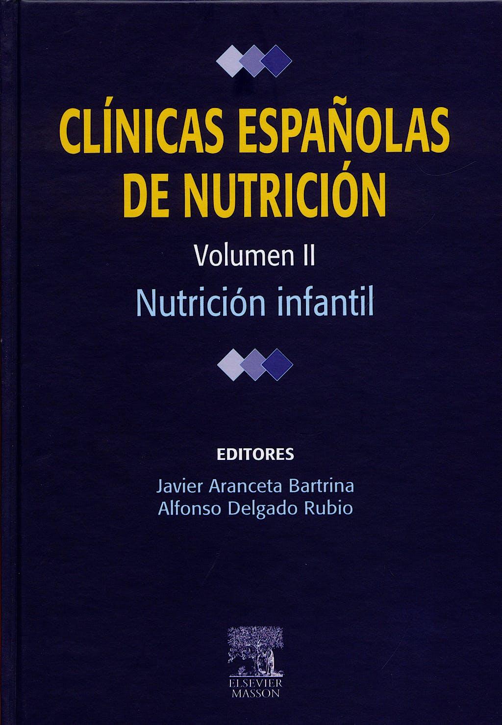 Portada del libro 9788445817841 Clinicas Españolas de Nutricion, Vol. Ii: Nutricion Infantil