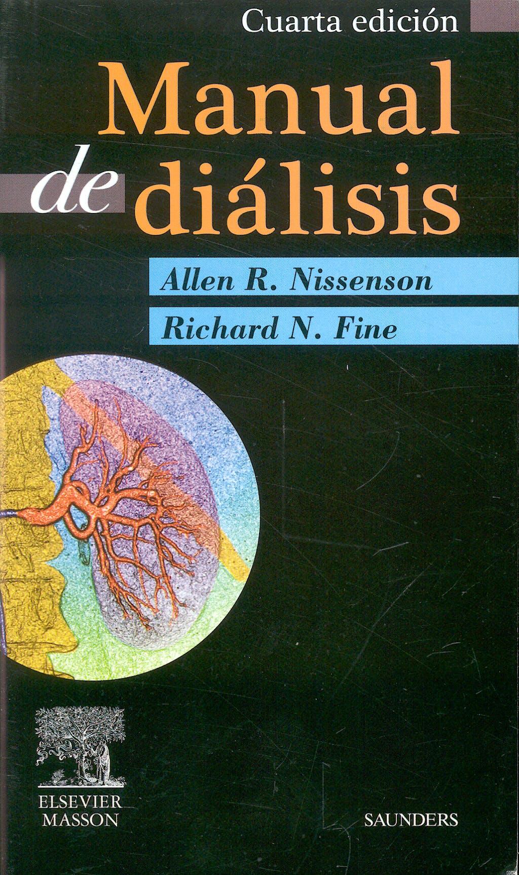 Portada del libro 9788445819067 Manual de Dialisis