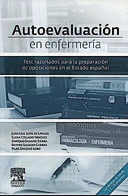 Portada del libro 9788445820230 Autoevaluación en Enfermería. Test Razonados para la Preparación de Oposiciones en el Estado Español
