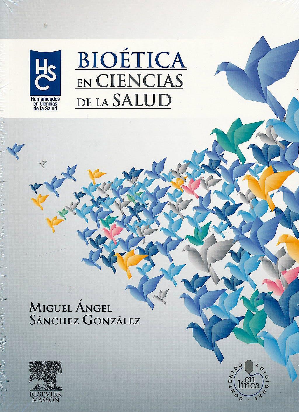 Portada del libro 9788445821169 Bioética en Ciencias de la Salud + Acceso Online