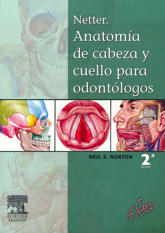 Producto: Netter Anatomía de Cabeza y Cuello para Odontólogos