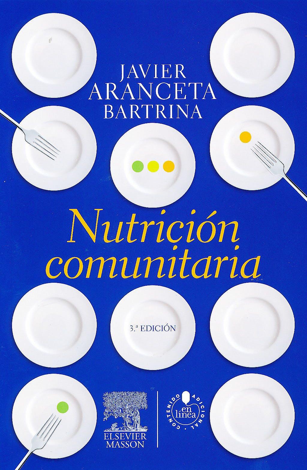 Portada del libro 9788445821374 Nutrición Comunitaria + Acceso Online