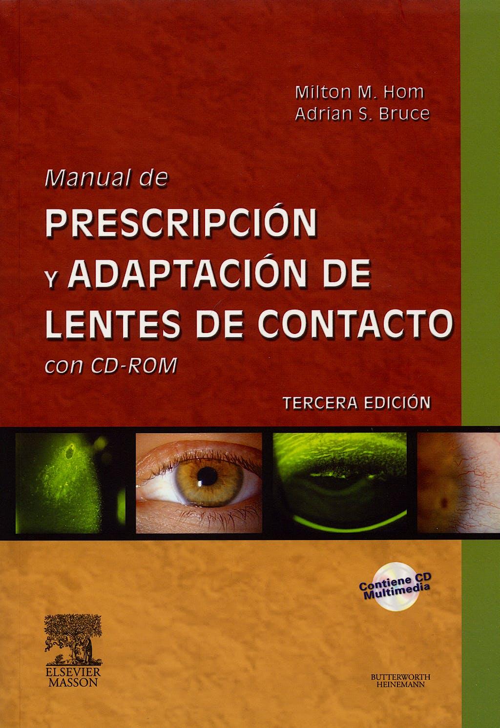 Producto: Manual de Prescripcion y Adaptacion de Lentes de Contacto ...