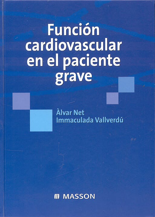 Portada del libro 9788445822685 Funcion Cardiovascular en el Paciente Grave