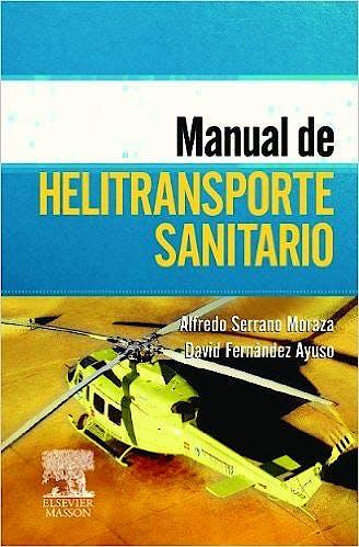Portada del libro 9788445824474 Manual de Helitransporte Sanitario