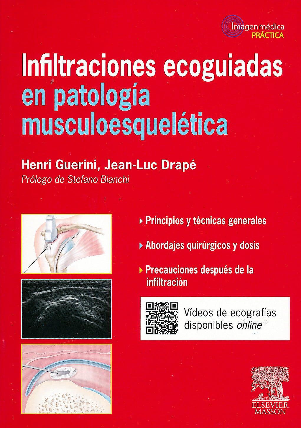 Portada del libro 9788445825297 Infiltraciones Ecoguiadas en Patología Musculoesquelética (Imagen Médica Práctica)