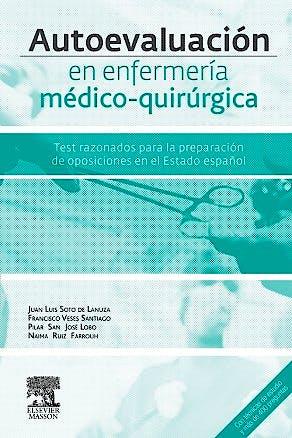 Portada del libro 9788445826188 Autoevaluación en Enfermería Médico-Quirúrgica. Test Razonados para la Preparación de Especialista