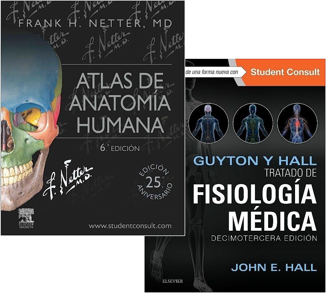 Producto: Lote Guyton y Hall Tratado de Fisiología Médica + Netter ...