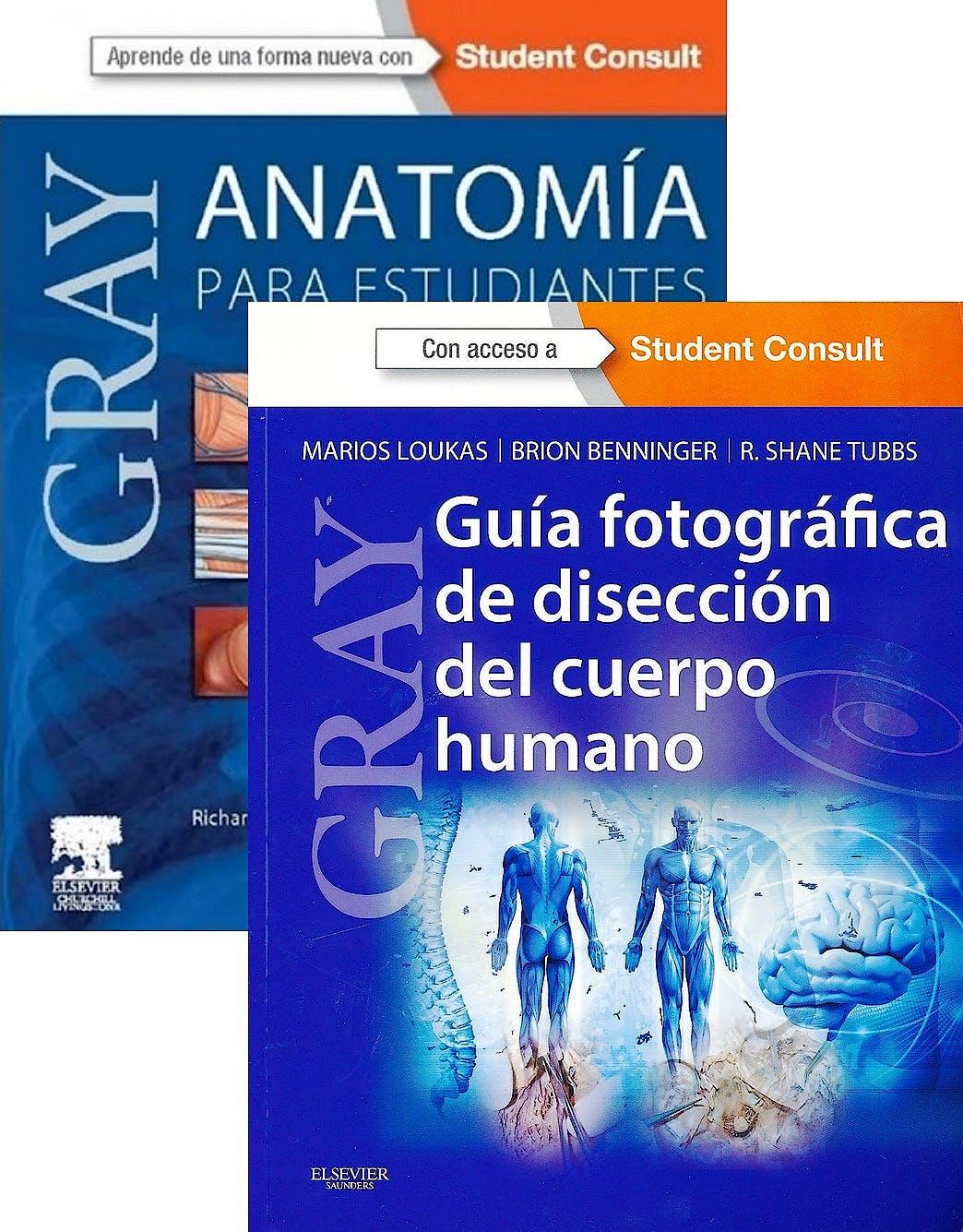 Producto: Lote Gray Anatomía para Estudiantes + Gray Guía ...