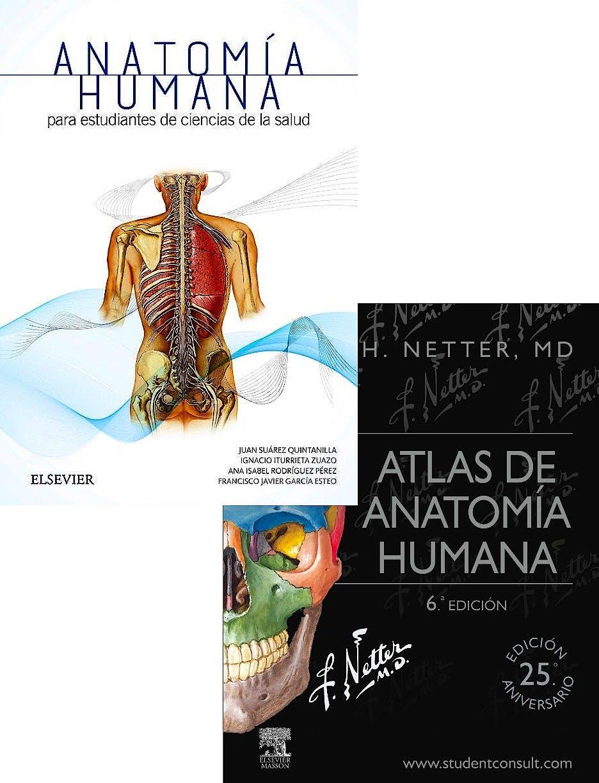 Producto: Lote Netter Atlas de Anatomía Humana + Anatomía Humana ...