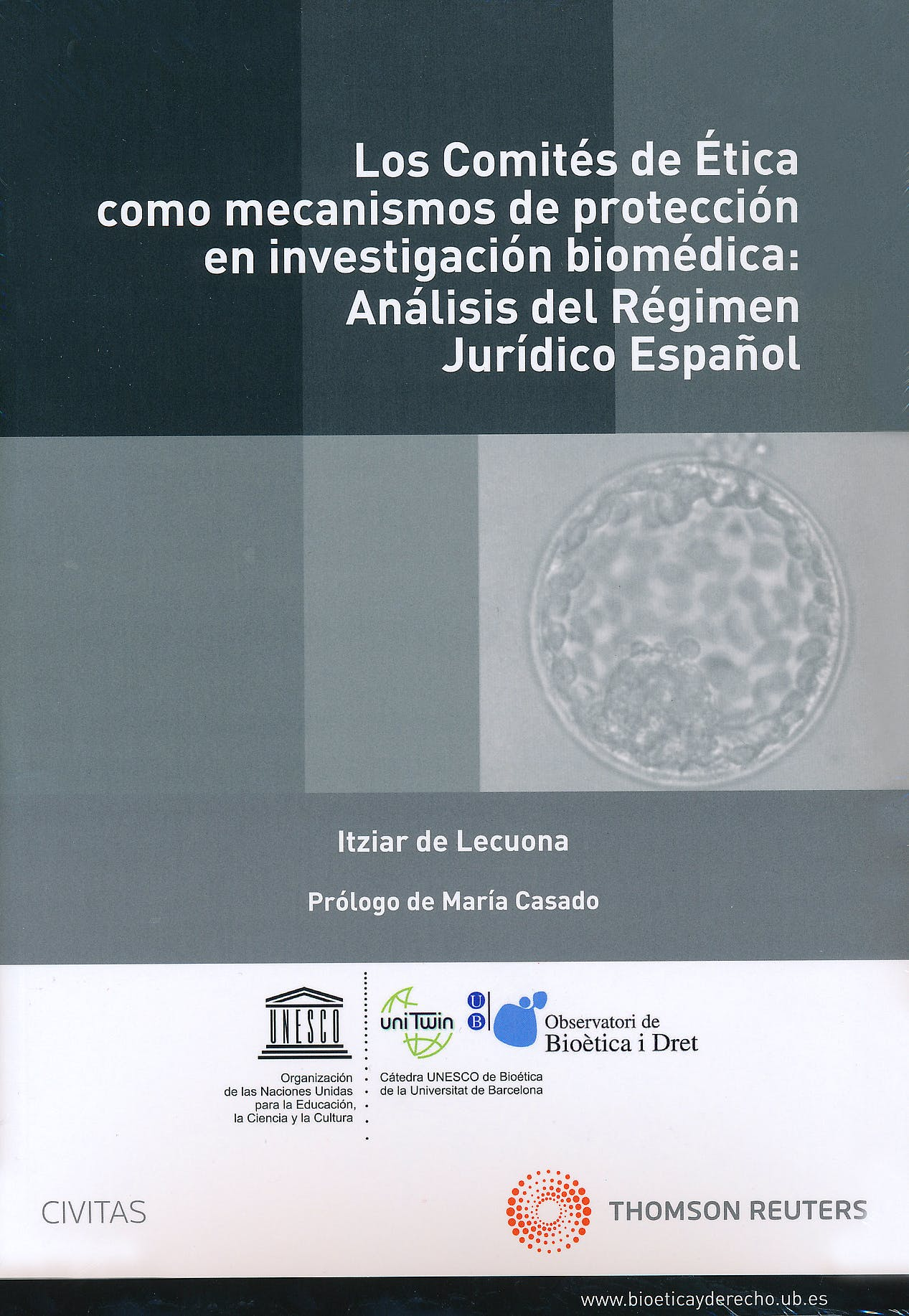 Portada del libro 9788447036899 Los Comites de Etica como Mecanismos de la Proteccion e Investigacion Biomedica