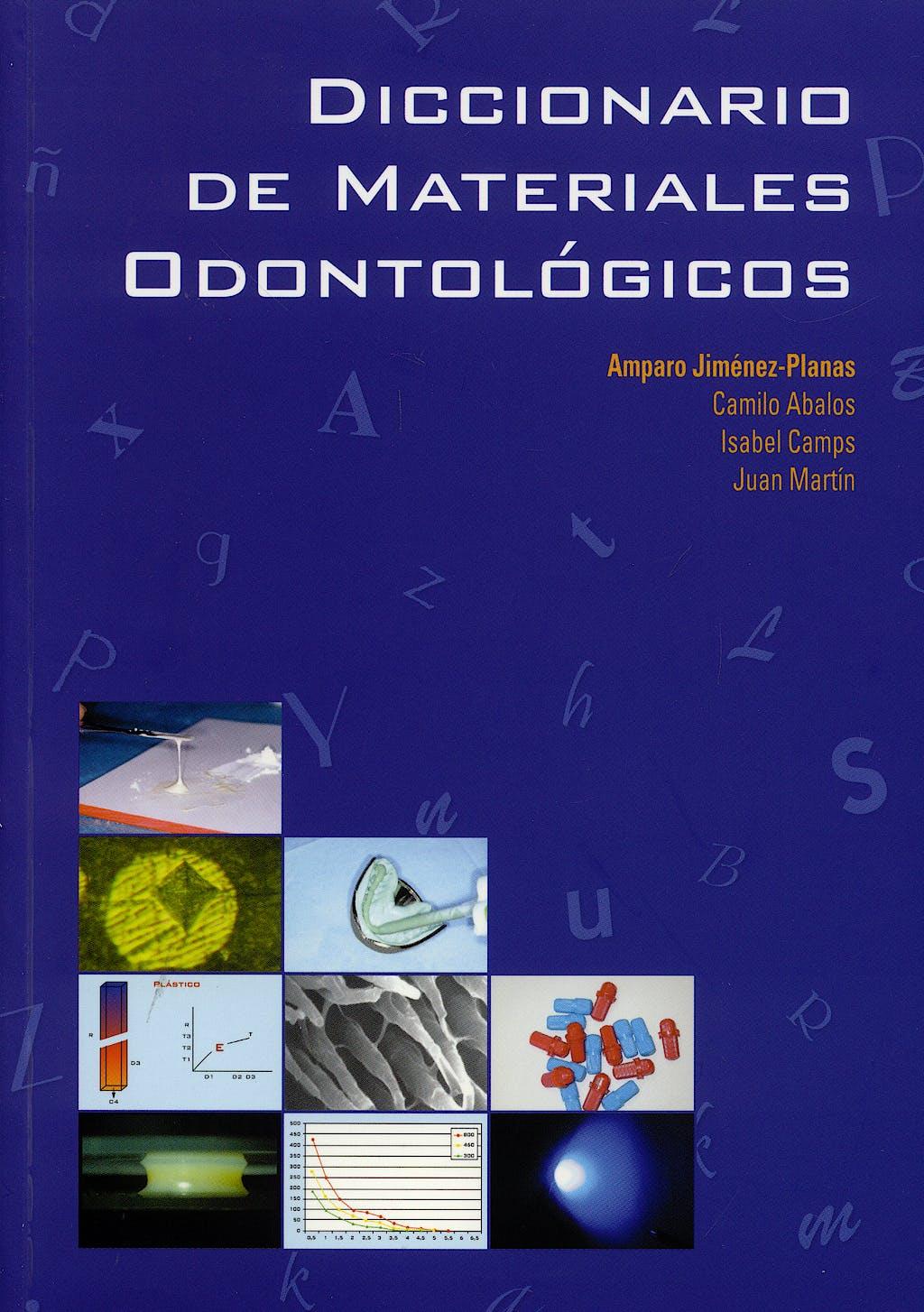 Portada del libro 9788447209521 Diccionario de Materiales Odontologicos