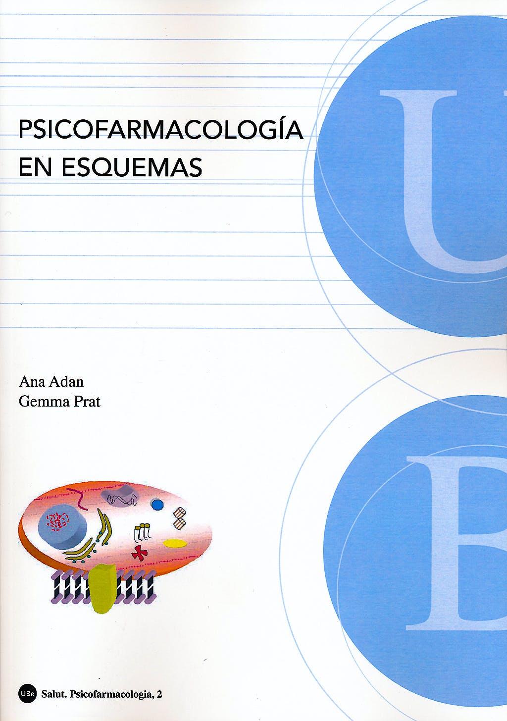 Portada del libro 9788447532179 Psicofarmacología en Esquemas